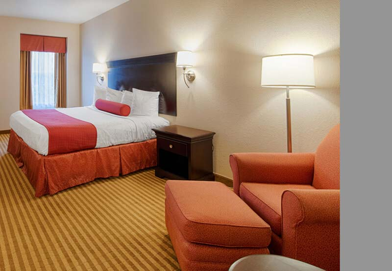 Rooms of Best Western Plus Greenville South, Piedmont