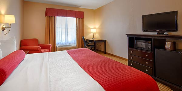 King Room of Best Western Plus Greenville South, Piedmont