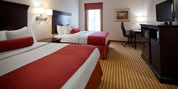 Queen Room of Best Western Plus Greenville South, Piedmont